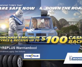 Michelin Tyre Specials in Warrnambool